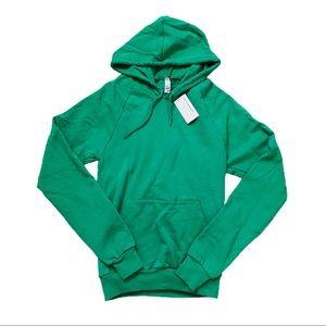 American apparel pullover hoodie sweatshirt jacket